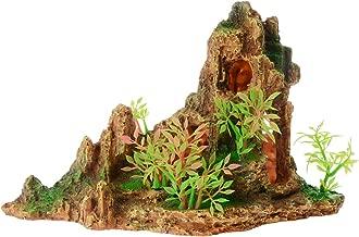 Saim Aquarium Artificial Mountain Cave Ornament Aqua Landscape Fish Tank Decoration