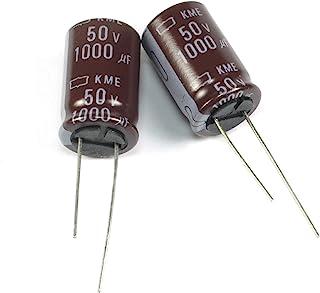 10x 47uF 50V 105°C ELECTROLYTIC CAPACITORS High Temp Radial Nippon Chemicon