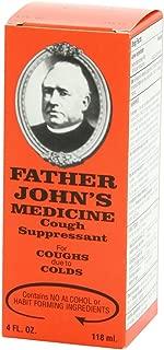 Father Johns Cough Suppressant Medicine - 4 Oz (Pack of 5)