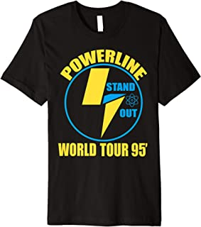Powerline Shirts World Tour  Premium T-Shirt