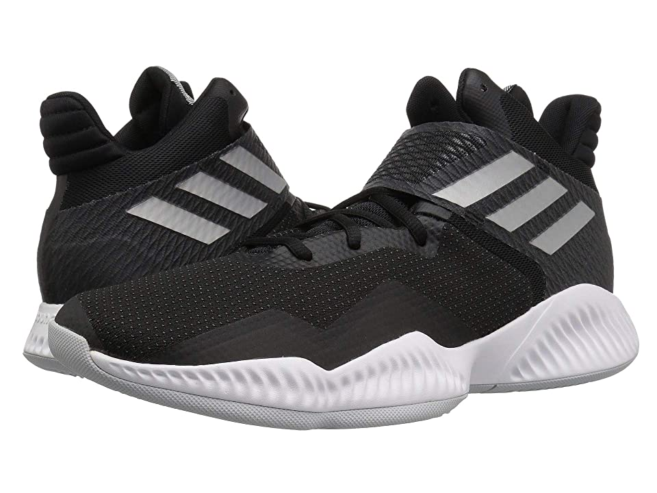 adidas Explosive Bounce (Black/Silver Metallic/Light Solid Grey) Men