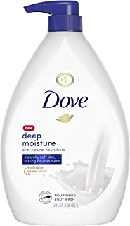 Dove Body Wash Pump For Dry Skin Deep Moisture Sulfate Free Moisturizing Bodywash 34 oz