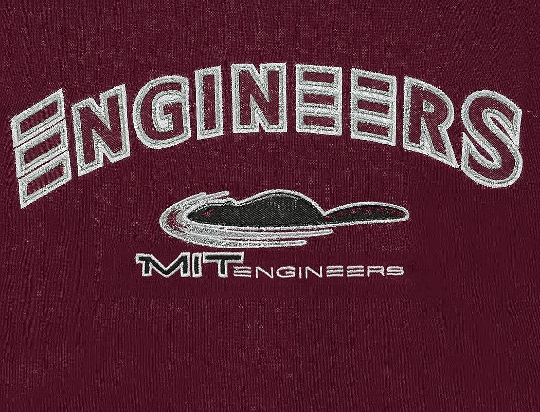 Schriftzug in Teamfarben Bestickt Colosseum NCAA Herren-Sweatshirt Rundhalsausschnitt Tackle Twill Fleece