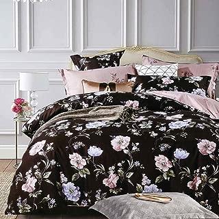 Best black floral comforter sets Reviews