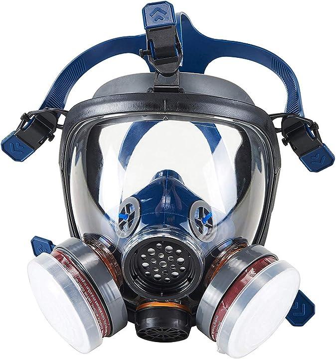 Maschera di protezione per il viso per vernice polvere- respiratore facciale con certificazione ce -ohmotor S100 CL2