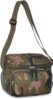 Everest Cooler/Lunch Pattern Bag, Woodland Camo