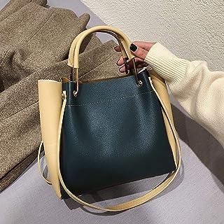Wultia - Shoulder Bag Handbags Big Women Bag Casual Female Bags Trunk Tote Shoulder Bag Daily Shopping torebka Damska Green