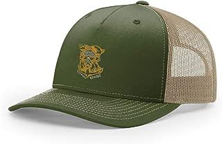 Navy Honorable Shellback Embroidered Richardson Hat