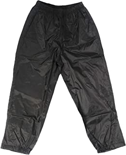 TUFFO Big Boy's Adventure Rain Pants RPB006, Black, 8