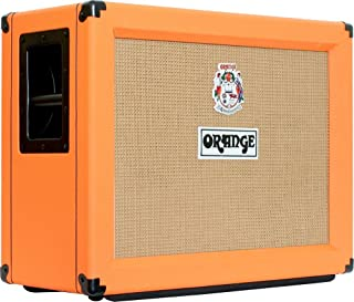 Orange PPC212-OB 120-Watt 2x12 Inches Open-Back Speaker Cabinet 16-Ohm - Black