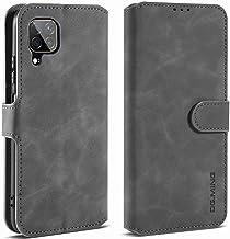 Hicaseer Capa para Huawei P40 Lite, capa carteira protetora magnética retrô com suporte para cartão capa protetora de cour...