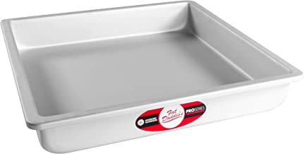 Fat Daddio's Anodized Aluminum Square Cake Pan, 12 x 2 Inch