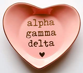 Sorority Shop Alpha Gamma Delta - Ceramic Ring Dish
