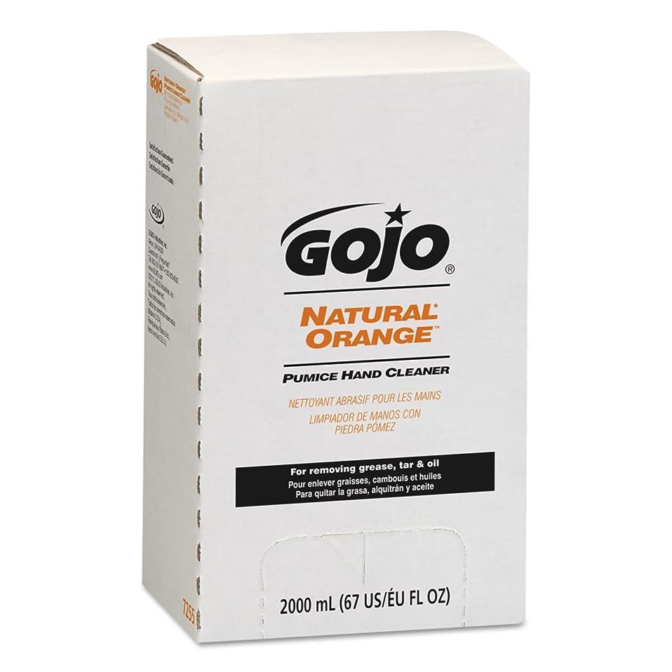 冷酷な計画薬を飲むNATURAL ORANGE Pumice Hand Cleaner Refill, Citrus Scent, 2000 mL, 4/Carton (並行輸入品)