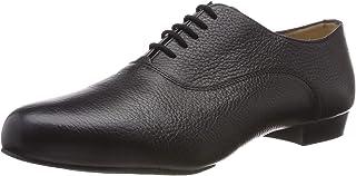 9dab053dbf70 Werner Kern Hommes Chaussures de Danse 28034 - Cuir Noir - 2,5 cm Ballroom