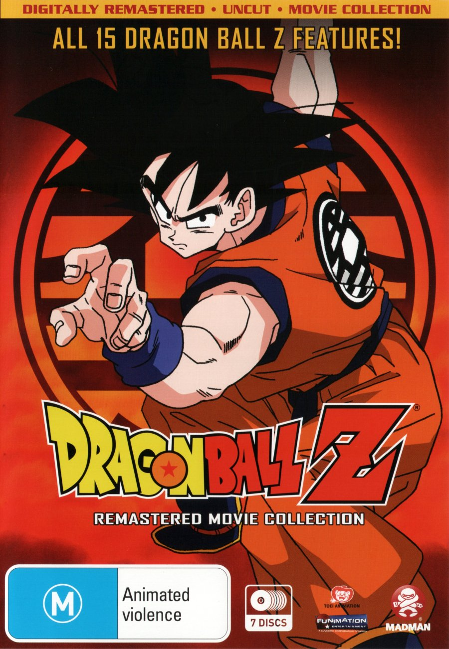 2021 model Dragon Ball Z Remastered Movie Max 80% OFF 7 Collection An Discs Uncut