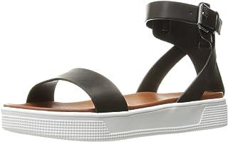 a44b7ce90 Amazon.com  Black Platform Sandals