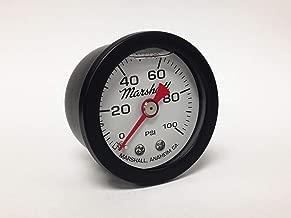 Marshall Instruments CWB00100 Liquid Filled Fuel Pressure Gauge