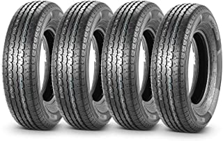 Set of 4 Premium Radial Trailer Tires ST 205/75R15 205 75R15 8PR/Load Range D 107/102L