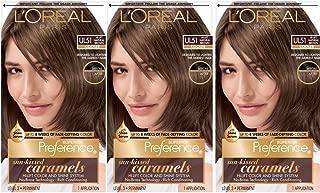 L'OrÃal Paris Superior Preference Fade-Defying + Shine Permanent Hair Color, UL51 Hi-Lift Natural Brown, 3 Count Hair Dye