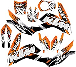 New Full Graphics Decals Stickers 3M Bright Waterproof Sun-proof For KTM DUKE 125 200 390 (Glossy)