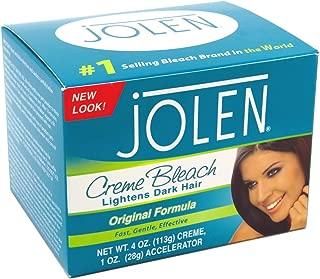 Jolen Creme Bleach Regular Lightens Excess Dark Hair 4 Ounce (118ml) (2 Pack)