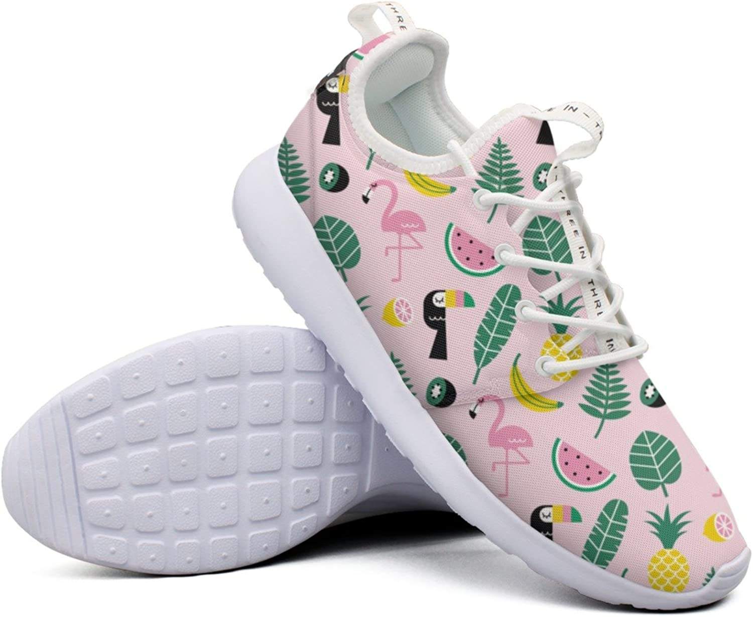 Womens Tropical Pattern colorful New Hunting Design Running shoes