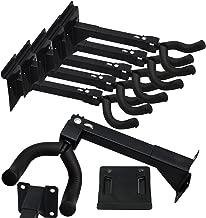 Set of Five (5) Adjustable Guitar & String Instrument Hanger Hook Holder ~ Mount with Screws, Bolts, or Included Standard 3