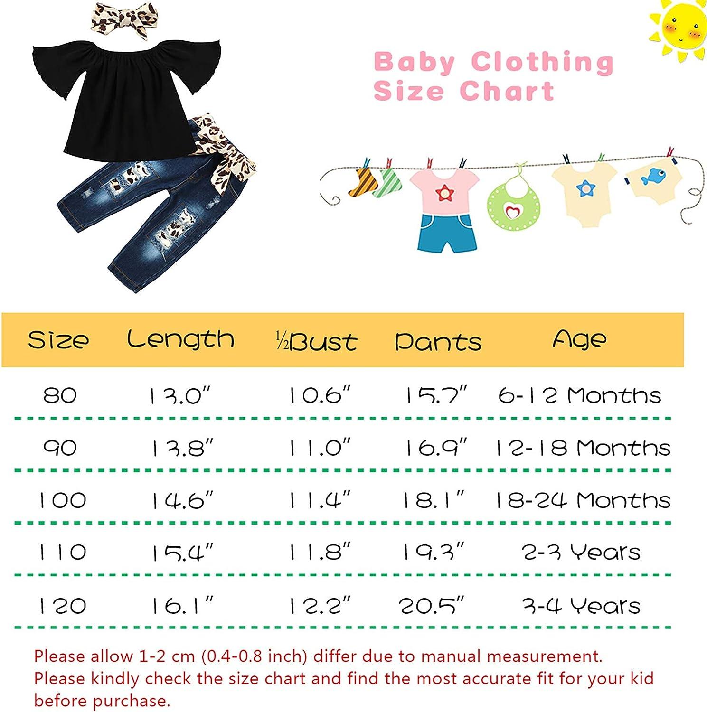 Baby Headband 3PCS Outfits Set Toddler Girl Clothes Black Short ...