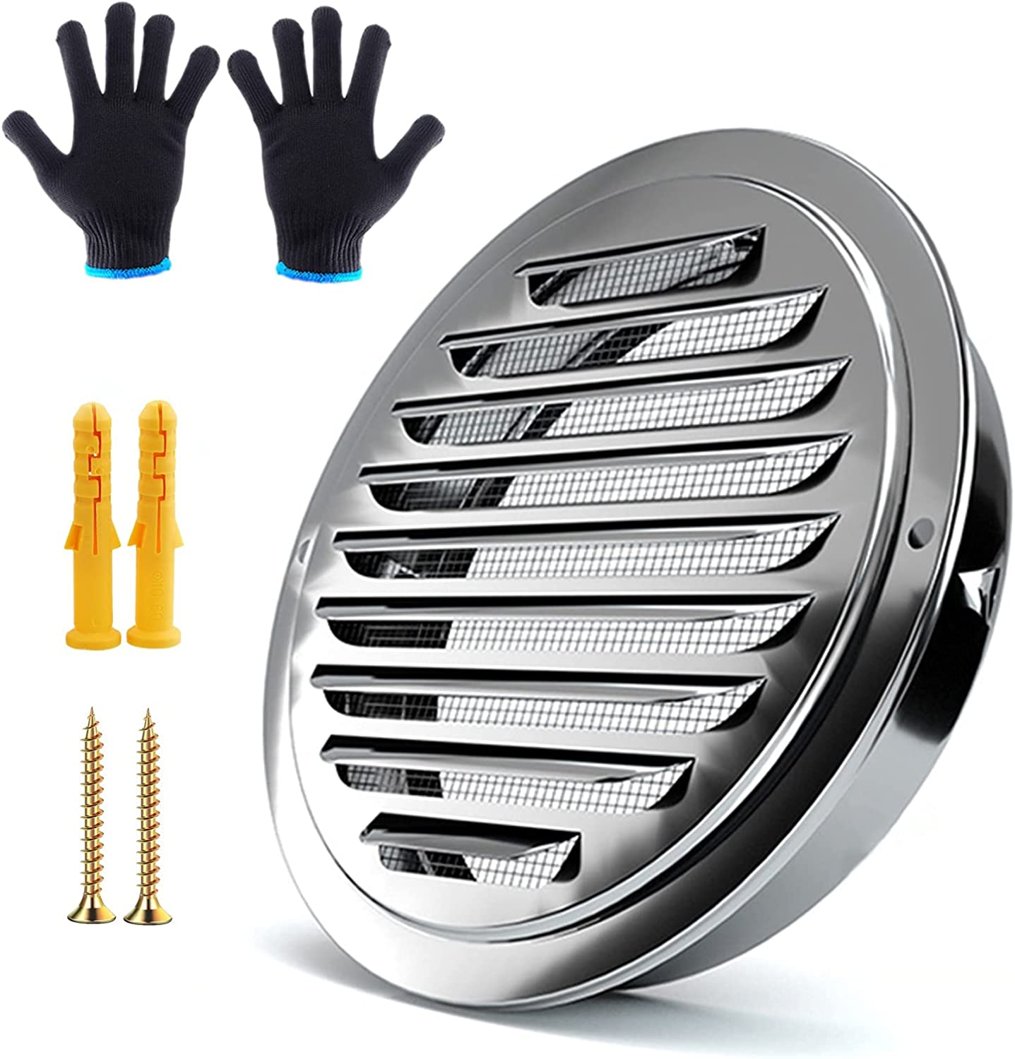 LIGUOYI Stainless Steel Air Classic Vents El Paso Mall Cover Grille Vent Louvered Ho