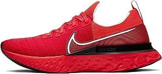 Nike React Infinity Run Flyknit Men's Running Shoe Bright Crimson/White-Black-Infrared Size 15