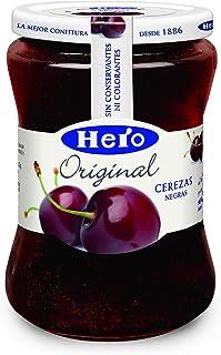Hero Original Confitura de Cerezas Negras - 345 gr