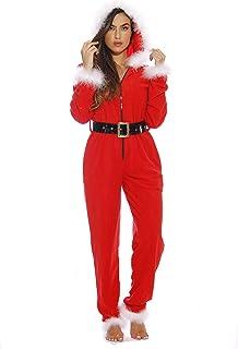 c217ec9da95 Amazon.com: Reds - One-Piece Pajamas / Sleep & Lounge: Clothing ...