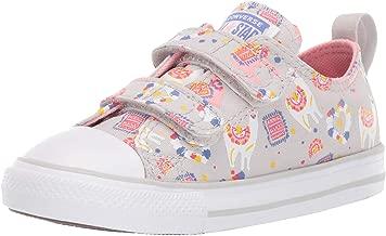 Converse Kids' Chuck Taylor All Star Llama Print Velcro Low Top Sneaker