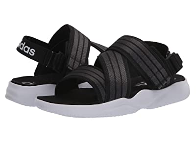 adidas 90s Sandal (Core Black/Grey Six/Footwear White) Women
