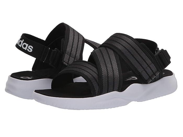 adidas  90s Sandal (Core Black/Grey Six/Footwear White) Womens Shoes