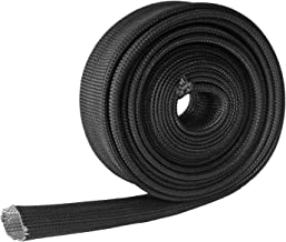 Auto Heat Sleeve Fiberglass Adjustable Heat Shield 10FT-15.24MM(3/5