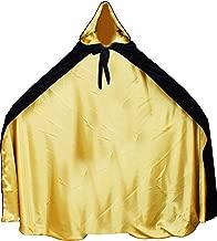 LuckyMjmy Velvet Renaissance Medieval Cloak Cape Lined with Satin