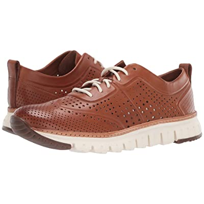 Cole Haan Zerogrand Laser Perforated Sneaker (British Tan) Men