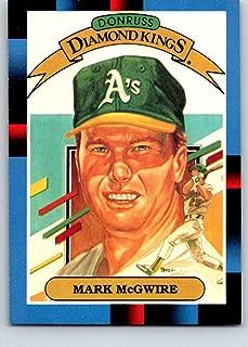 1988 Donruss #1 Mark McGwire DK