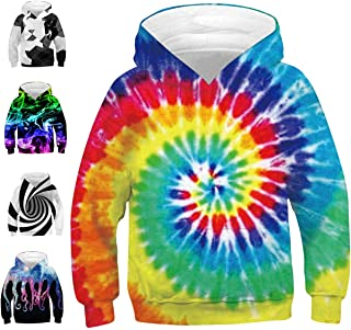 Boys Girls Fashion Hoodies Kids 3D Printed Sweatshirts Pullover Casual Spring Autumn Costumes 6-16 Years
