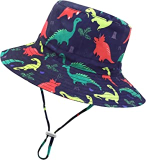 Baby Sun Hat Toddler Hats for Boys Baby Girl Hats Infant Hat UPF 50+ Wide Brim Baby Bucket Hat Cute Kids Beach Hat