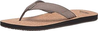 Quiksilver Molokai Abyss Natural 3 Point Sandal mens Flip-Flop