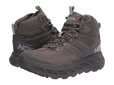 Hoka One One Stinson Mid GORE-TEX(r) (Dark Gull Grey/Drizzle) Men