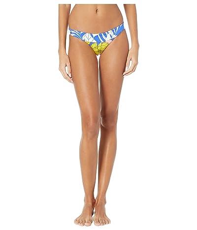 Maaji Swimming Flirt Reversible Signature Coverage Bikini Bottoms (Pacific Blue Floral) Women