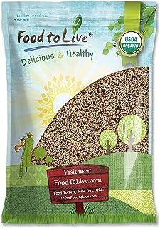 Organic Tri-Color Quinoa, 10 Pounds — Non-GMO, Raw, Whole Grain, Non-Irradiated, Kosher, Vegan, Sproutable, Bulk, Three-Co...