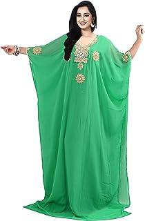 أزياء KoC قفطان للنساء فستان الفراشة كيمونو لباس الشاطئ رداء علوي - مقاس موحد