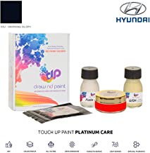 DrawndPaint for/Hyundai I10 / Morning Glory - X3U / Touch-UP Sistema DE Pintura Coincidencia EXACTA/Platinum Care