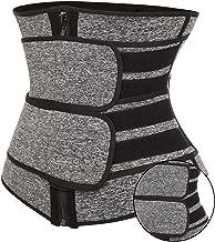 Yokbeer Tailletrainers voor vrouwenbuikriem voor vrouwen Gewichtsverlies Waistiner voor gewichtsverlies (Color : Gray, Siz...