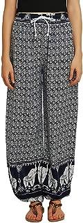 Deal!Forthery Womens Fashion Wide Leg Pants Casual Floral Print Ladies Yoga Pants Harem Pants Jogger Pants